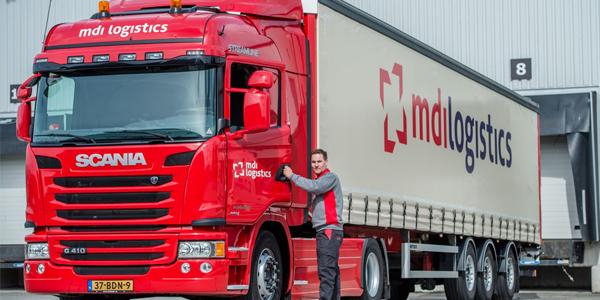 Vrachtwagen MDI logistics
