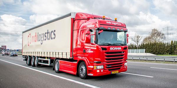 MDI logistics vrachtwagen