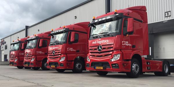 Mercedes-Benz trucks MDI logistics