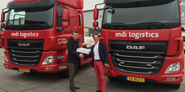 Vrachtwagen DAF MDI logistics
